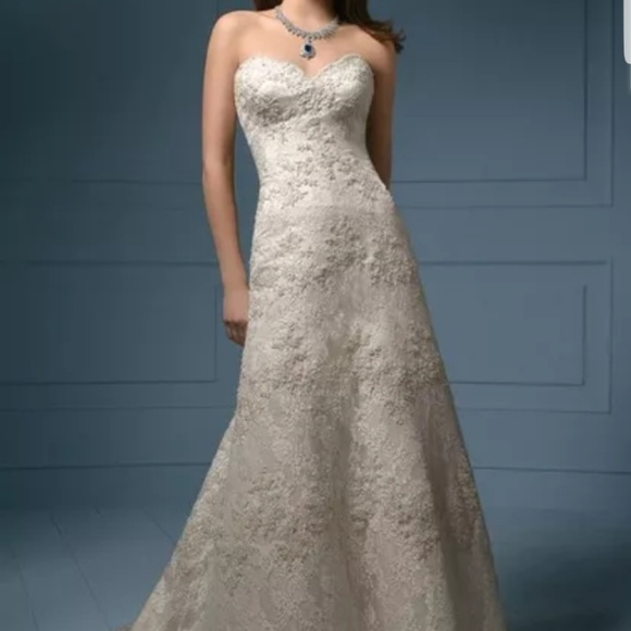 Alfred Angelo Dresses Sapphire Line Wedding Dress Poshmark
